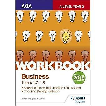 AQA A-Level Business Arbeitsmappe 3: Themen 1,7-1,8