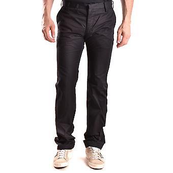 Yohji Yamamoto Ezbc106017 Men's Black Cotton Pants