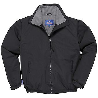 Portwest Mens Moray Casual Workwear Bomber Coat Jacket Black, Navy, Red, Royal