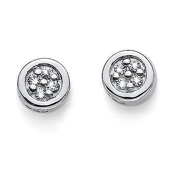 Oliver Weber Post Earring Pinny 925 AG Gilt Crystal