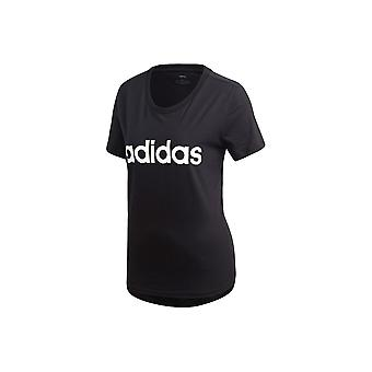 Adidas Essentials lineær Slim DP2361 universal alle år kvinner t-skjorte