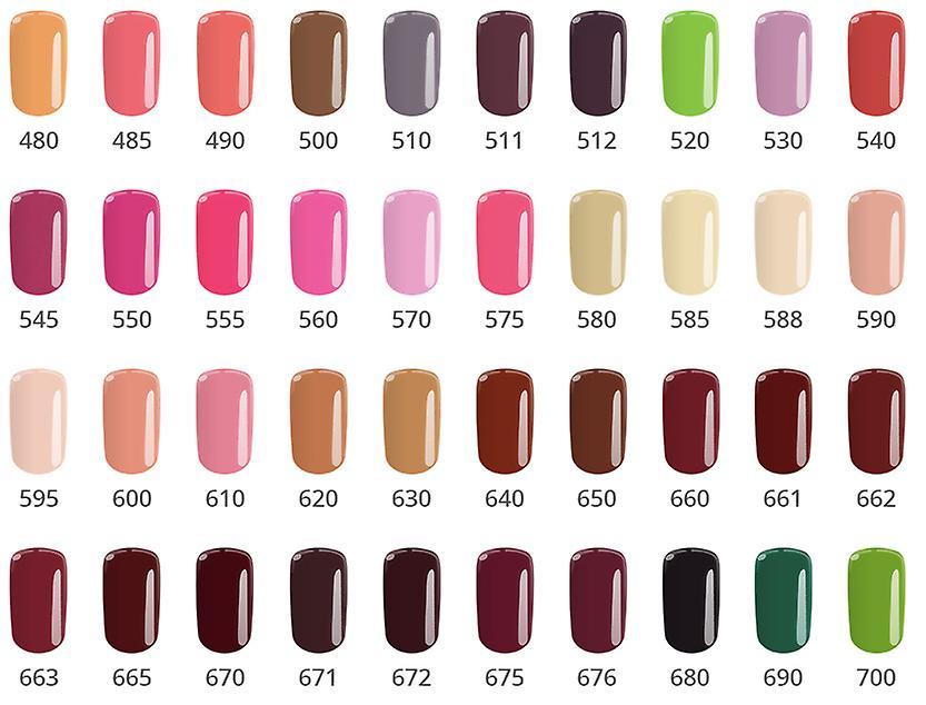 Gel polsk-Color IT-* 510 8g UV gel/LED