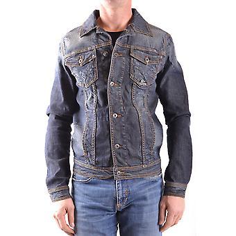 Roy Roger-apos;s Ezbc159015 Men-apos;s Blue Denim Outerwear Jacket
