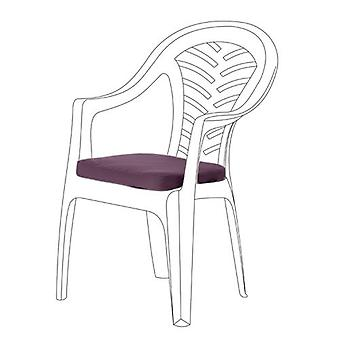 Purple Seat Cushions for Resol Palma Chair, Pack of 2