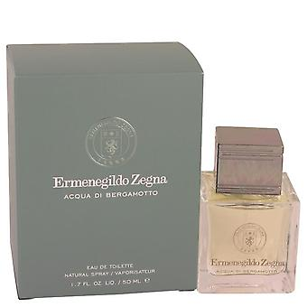 Acqua di bergamotto eau de toilette spray by ermenegildo zegna 533839 50 ml