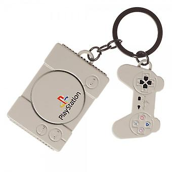 Catena di chiavi - Sony Playstation - Console Controller Charm Metal Nuovo ke5ekdspn