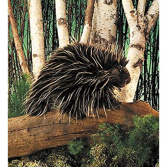 Hand Puppet - Folkmanis - Porcupine New Animals Soft Doll Peluche Toys 2378
