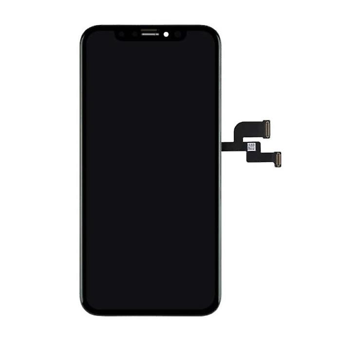 Stuff Certified® iPhone XS Screen (Touchscreen + OLED + Parts) AA + Quality - Black + Tools