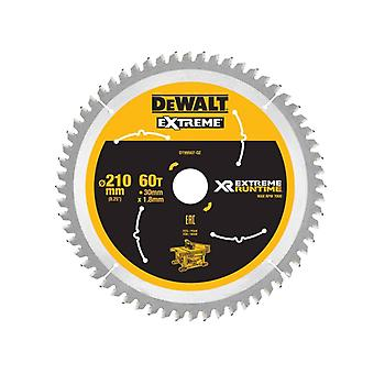 DeWALT DT99567-QZ Xtreme runtime 210mm x 30mm 60T zaagblad