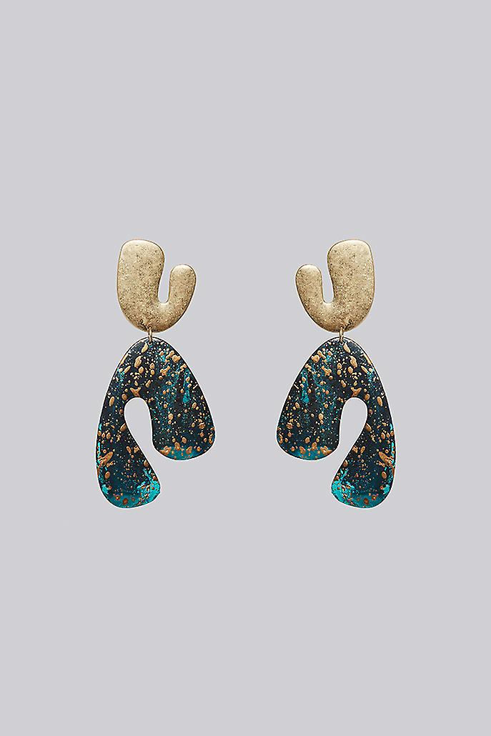 Louche Esau Earring Gold