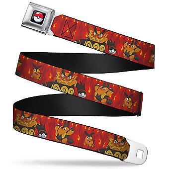 Cinturón de seguridad - Pokemon - V.12 Adj 24-38' Malla Nueva pka-wpk026