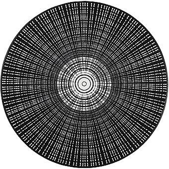 tvätt + torr dörrmatta Cascara svart x 145 cm tvättbar smuts matta