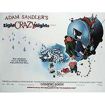 Eight Crazy Nights (Double Sided) Original Cinema Poster