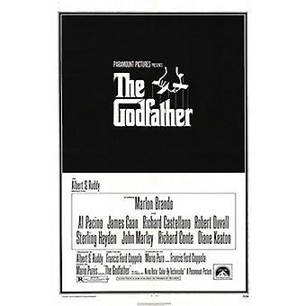 De peetvader (herdruk) herdruk poster