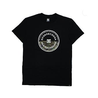 DC Big Jet Short Sleeve T-Shirt in nero