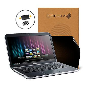 Celicious Privacy 2-Way Anti-Spy Filter Screen Protector Film Compatible with Dell Inspiron 15R 5520