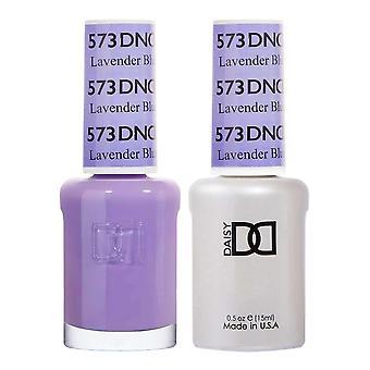 Dnd Duo Gel & Nail Polish Set - Lavender Blue 573 - 2x15ml