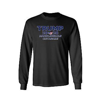 Unisex Trump 2020 Make Liberals Cry Again Long Sleeve Shirt