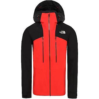 North Face Powderflo Jacket - Fiery Red