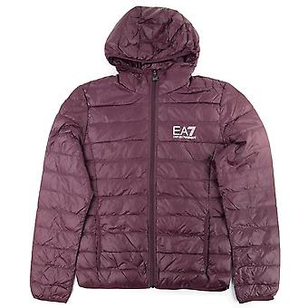 EA7 Quilted Down Jacket Fudge