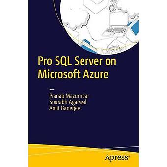 Pro SQL Server på Microsoft Azure genom Mazumdar