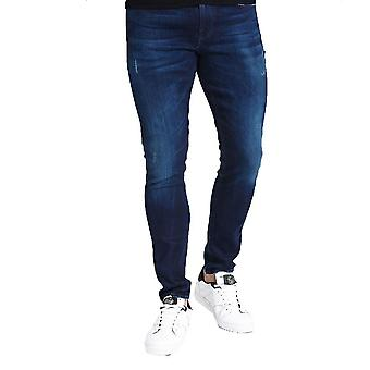 Guess Chris Skinny Jeans Used Look   M94A27D3SY0