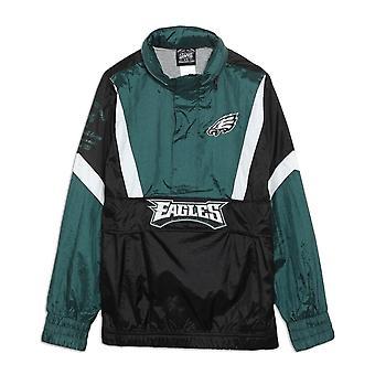 Outerstuff Nfl Philadelphia Eagles Youth Crinkle Nylon Windbreaker Jacket