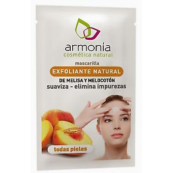 Armonía Natural Peach and Melissa Exfoliant 10 ml