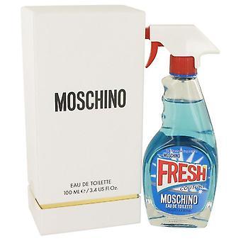 Moschino fresh couture eau de toilette spray by moschino 535052 100 ml