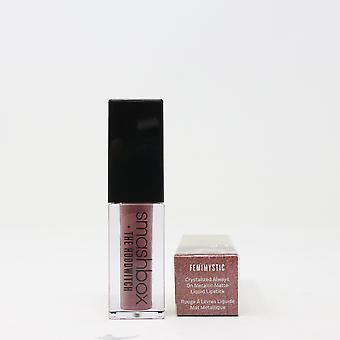 Smashbox Crystalized Always On Liquid Lipstick (Choose Your Shade) 0.13oz  New