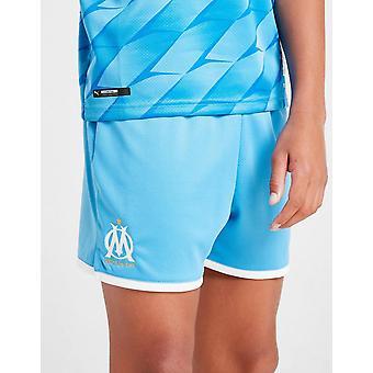 Nieuwe Puma Olympique Marseille 2019/20 afstand shorts Junior blauw