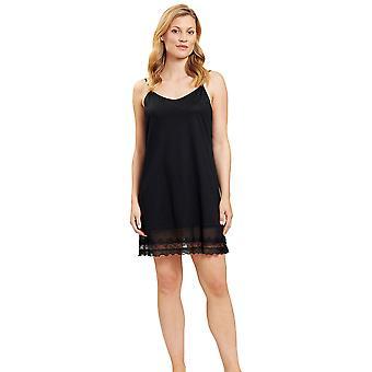 Féraud 3201036-10995 Kvinder's Couture Black Loungewear Nightdress