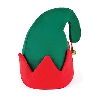 Bristol Novelty Unisex Adults Jingle Bell Christmas Elf Hat