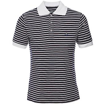 Vivienne Westwood Man Organic Cotton Striped Polo Shirt