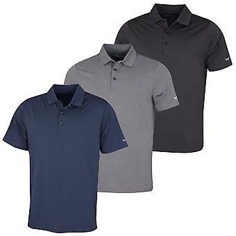 Wolsey Mens Fox Arm Temperature Regulating Jersey Golf Polo Shirt