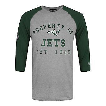 New Era NFL New York Jets Vintage Men's Raglan Top