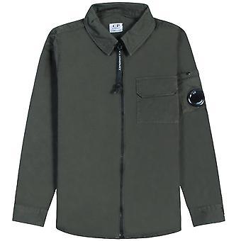 C.p. Company C.P Company Kids Long Sleeve Zip Shirt
