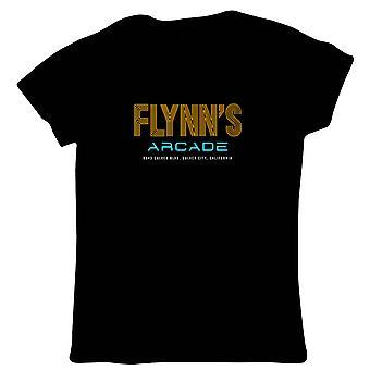 Flynns Arcade Tron Sci Fi Movie Inspired, Womens T-Shirt - Gift Her Mum
