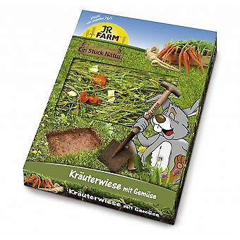 Jr Farm  Herb-Meadow with Vegetables (Small pets , Treats)