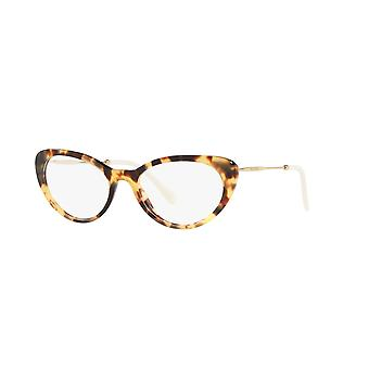 Miu Miu VMU05R 7S01O1 Light Havana Glasses