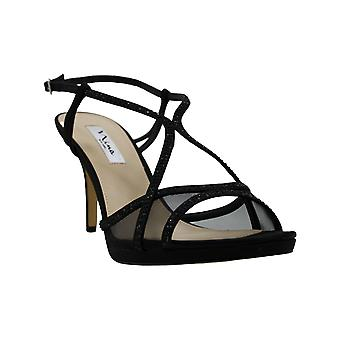 Nina Blossom Strappy Embellished Evening Sandals Women's Shoes