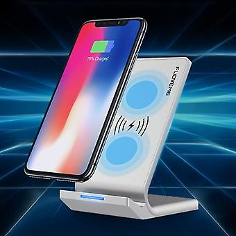 Floveme qi wireless charger desktop phone holder for iphone x 8plus xiaomi mix 2s s9+ s8 note 8