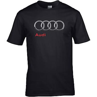 Audi Hoops Silver - Auto Motor - DTG Geprint T-shirt