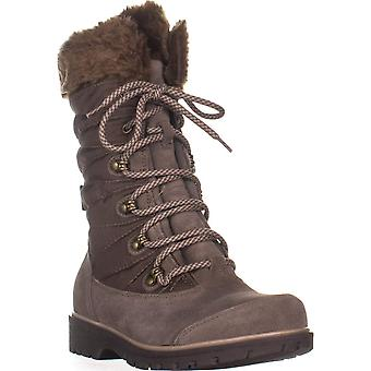 Bare Traps Womens Satin Closed Toe Mid-Calf Cold Weather Boots