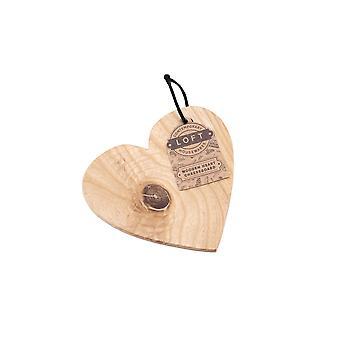 CGB Giftware Loft Heart Cheeseboard