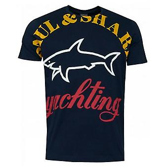 Paul And Shark Oversized Logo T-Shirt
