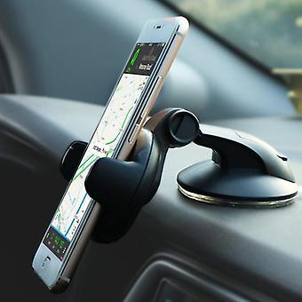 Bakeey 360 graden roterende multifunctionele zuignap auto lock auto mount desktop telefoon houder voor 5-8cm breedte smartphone