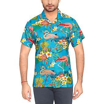 Club cubana men's regular fit classic short sleeve casual shirt ccc112