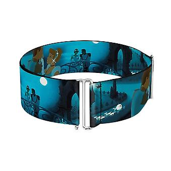 Disney Cinderella Ball Night Scenes Cinch Waist Belt