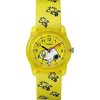 Timex Unisex kvartsi kello lapset oppivat nailon hihna TW2R41500